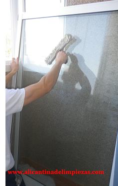 limpieza de ventanas en alicante