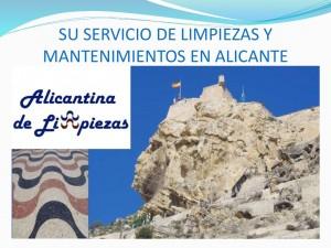 Alicantina de Limpiezas Empresa de Mantenimiento y Servicios en Alicante