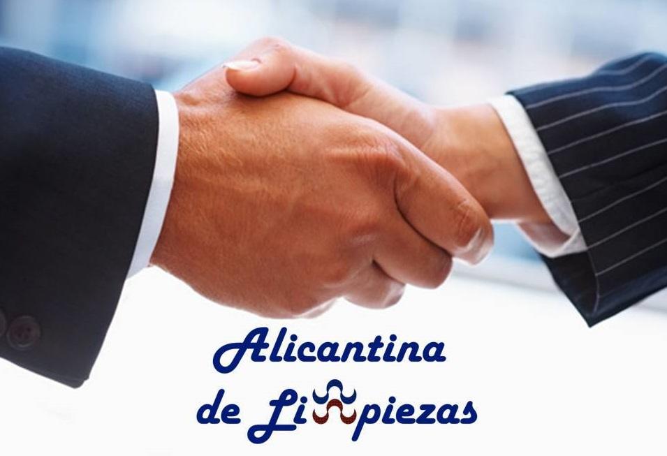 Trabjajo Alicantina de Limpiezas