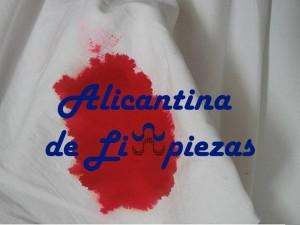 Limpieza Sangre superficies