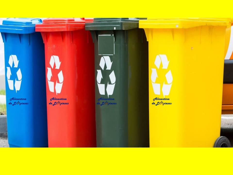Puntos reciclaje asociaciones recogida alimentos ropa donaciones clasificacion reciclar objetos